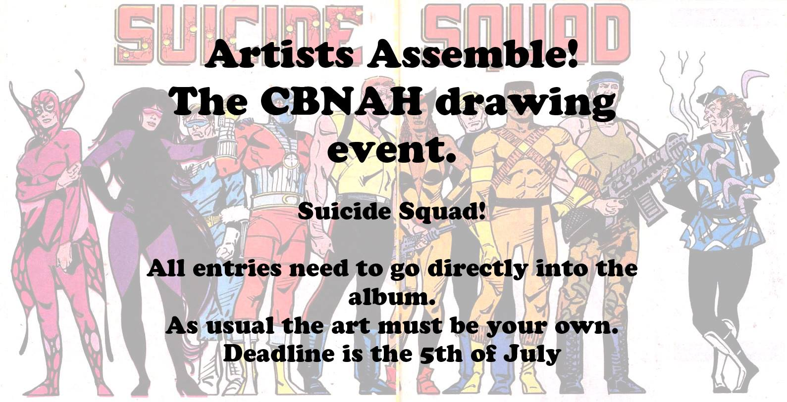 Artists Assemble : Suicide Squad