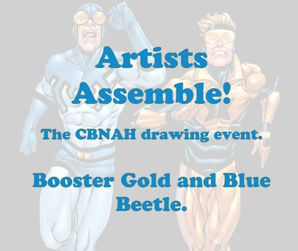 Artists Assemble : Booster Gold and Blue Beetle