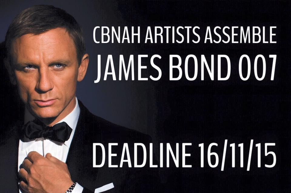 ARTISTS ASSEMBLE - JAMES BOND 007