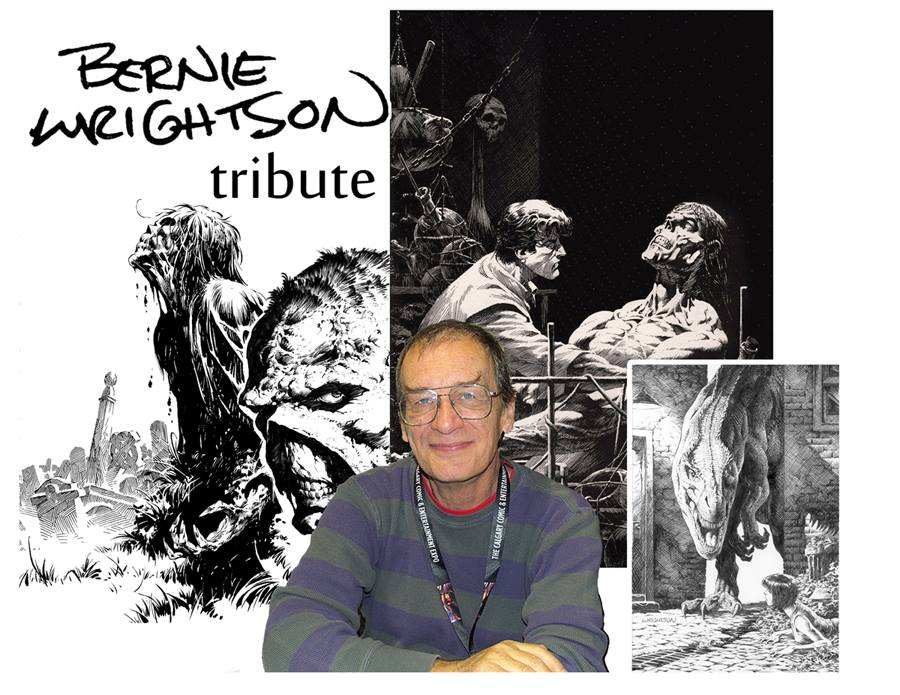 Artists Assemble! Bernie Wrightson Tribute