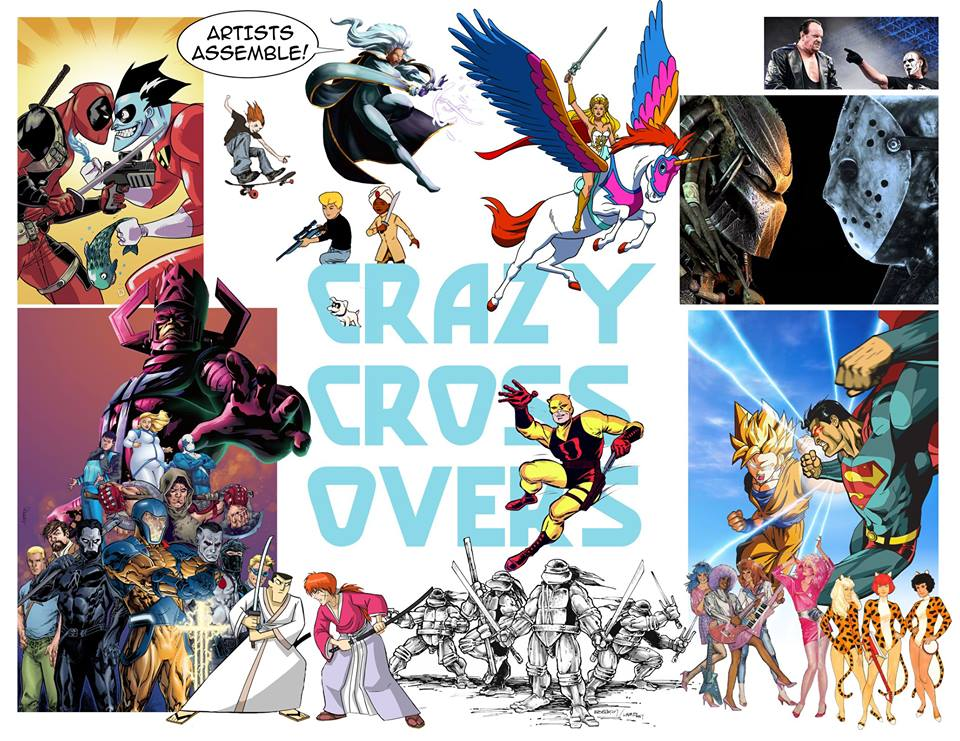 Artists Assemble! Crazy Crossovers