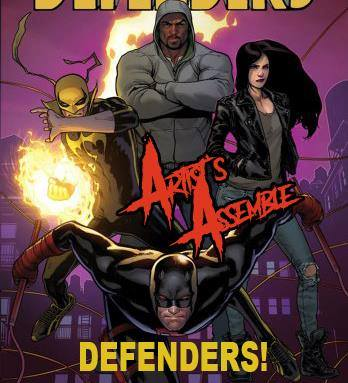 Artists Assemble! Defenders