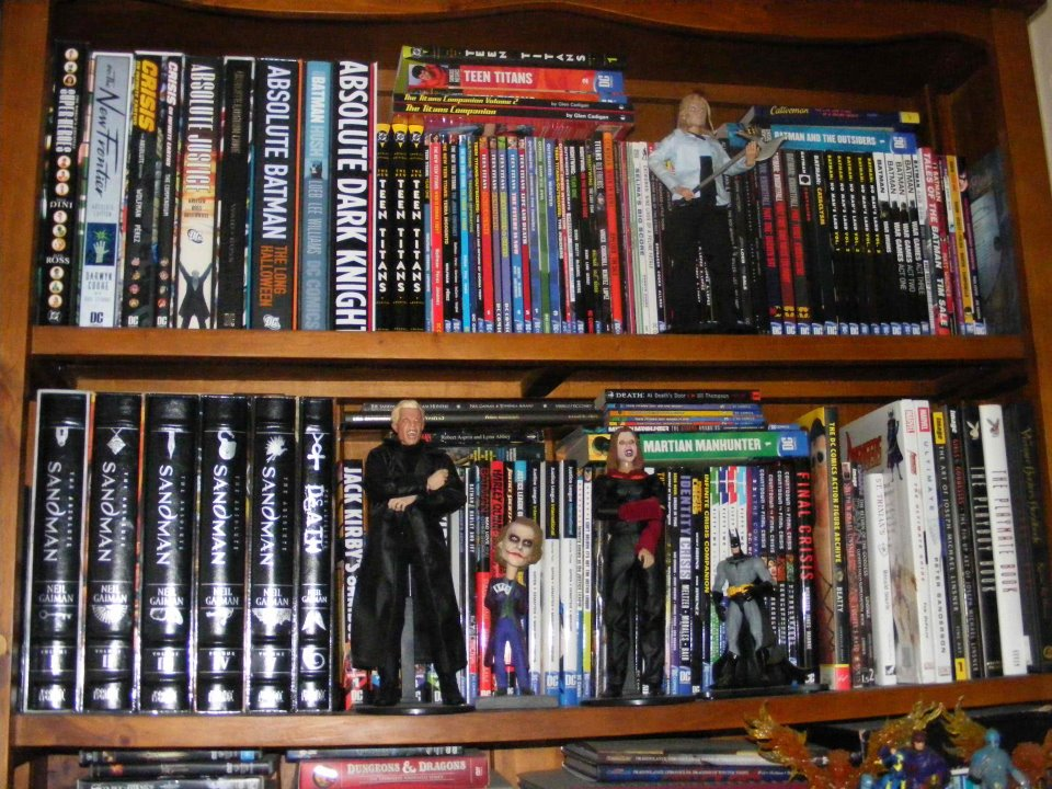 Mack macpherson 39 s dc shelves comic book nerds are hot - Comic book display shelves ...