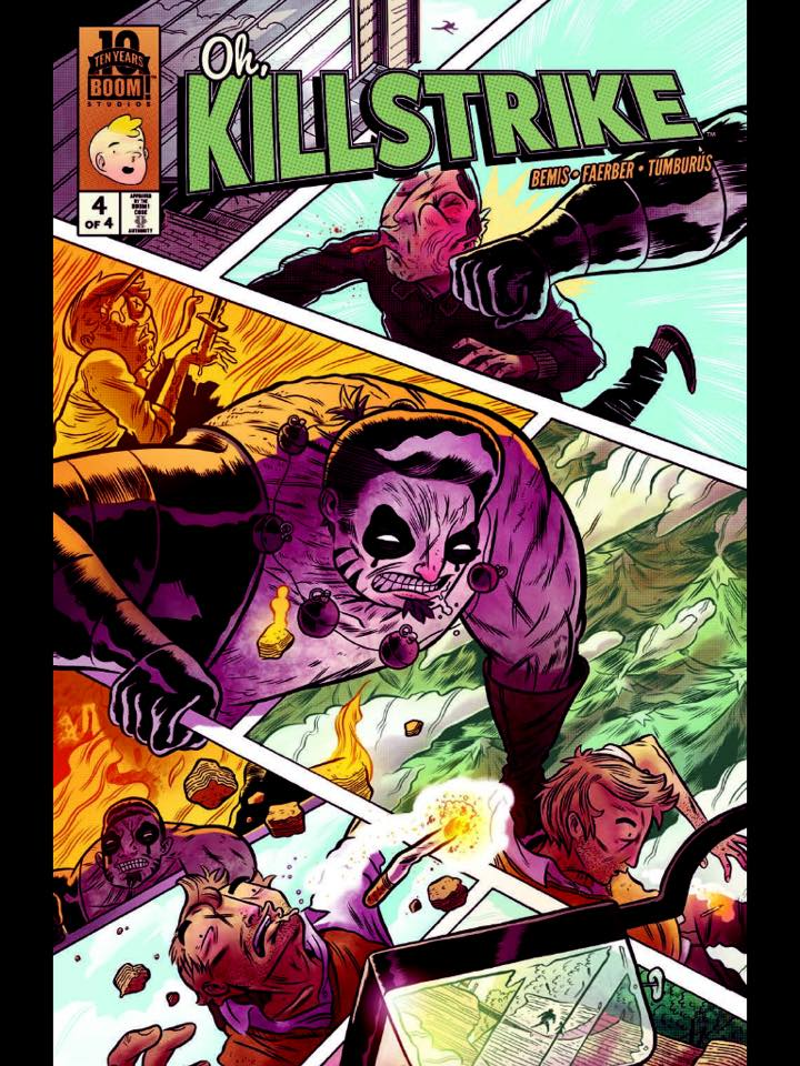Oh, Killstrike #2-4 Review