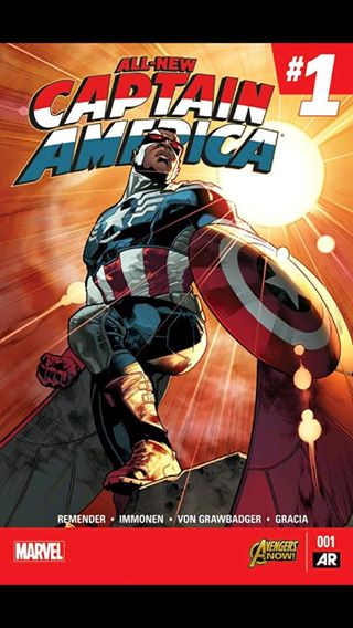 Marvel Unlimited Gets Grisbyed: All New Captain America #1