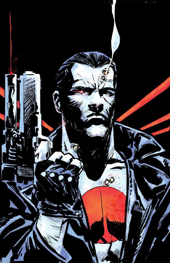 First Look of Bloodshot Reborn #6 by Lemire & Guice