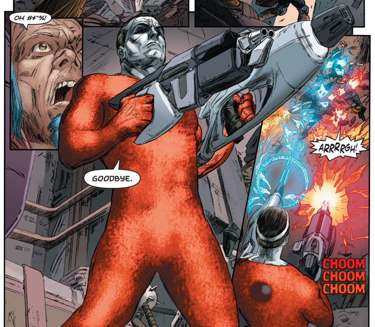 4001 A.D.: Bloodshot #1 Preview