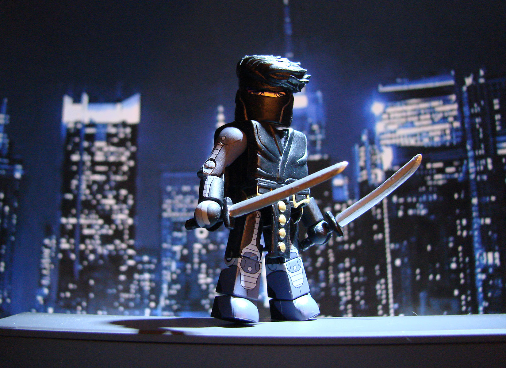 Ninjak and Shadowman Minimates: Coming out in Spring 2016 from Valiant and Diamond Select Toys