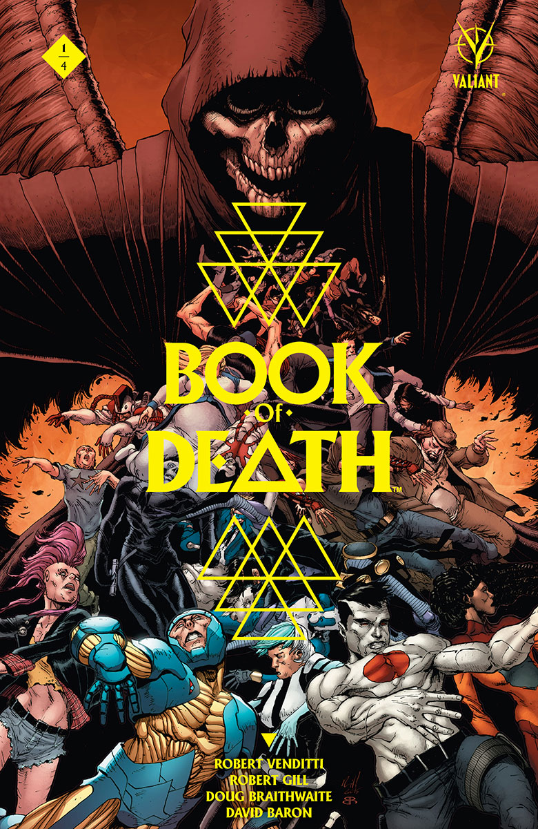 Book of Death #1 Reaps Instant Sell-Out, Second Printing Coming in August!
