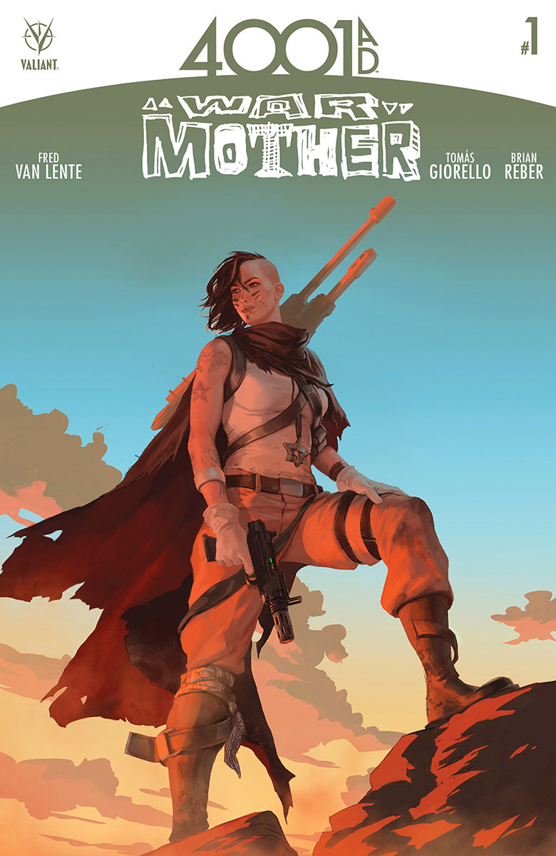 4001 A.D.: WAR MOTHER #1 Preview