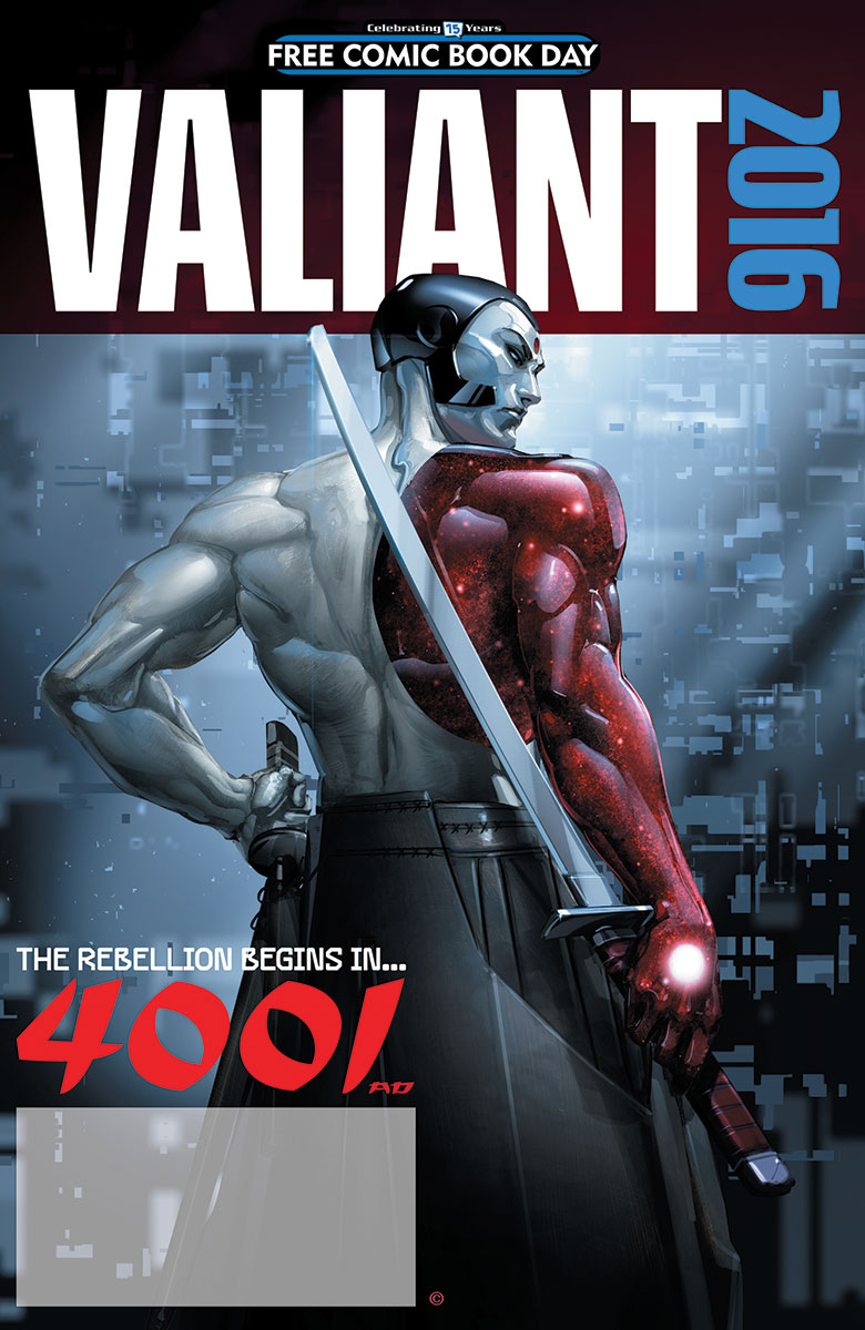 VALIANT: 4001 A.D. FCBD SPECIAL Increases Page Count to 40 Pages with Extra Comics