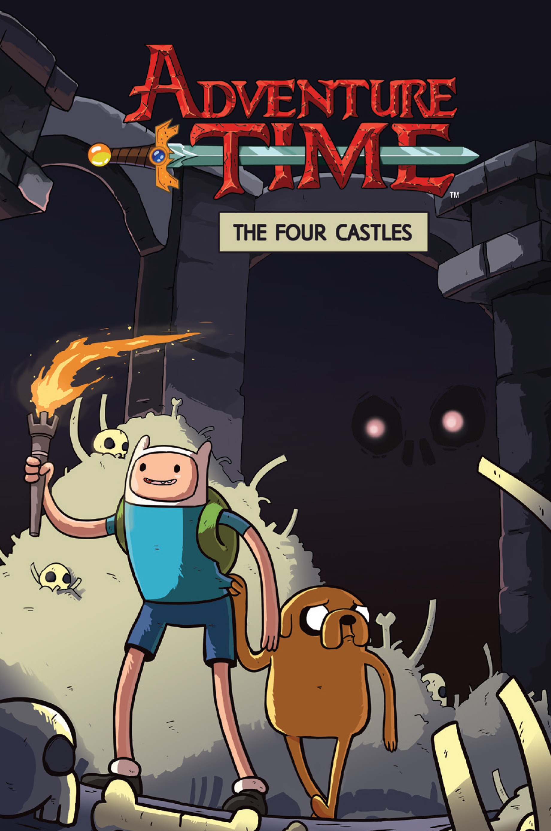 Adventure Time: The Four Castles OGN TP Preview