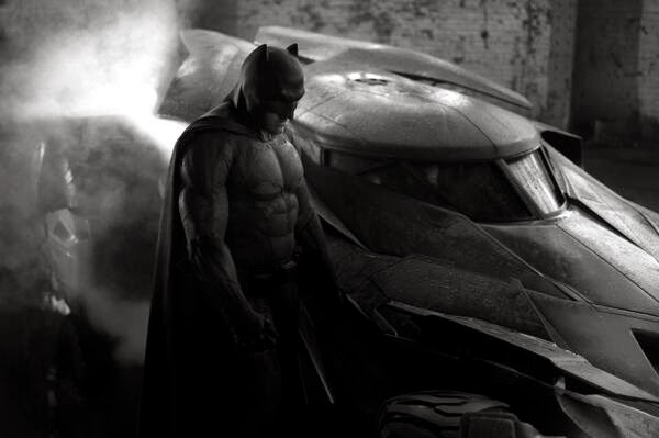New Batman vs Superman Photo