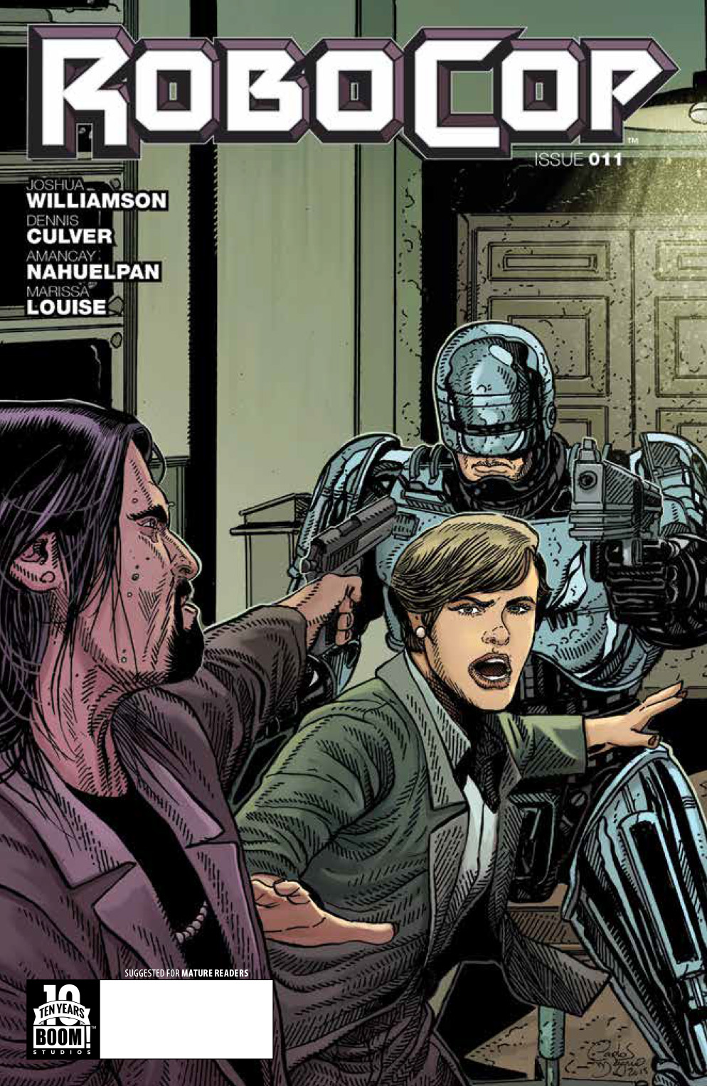 Robocop #11 Preview