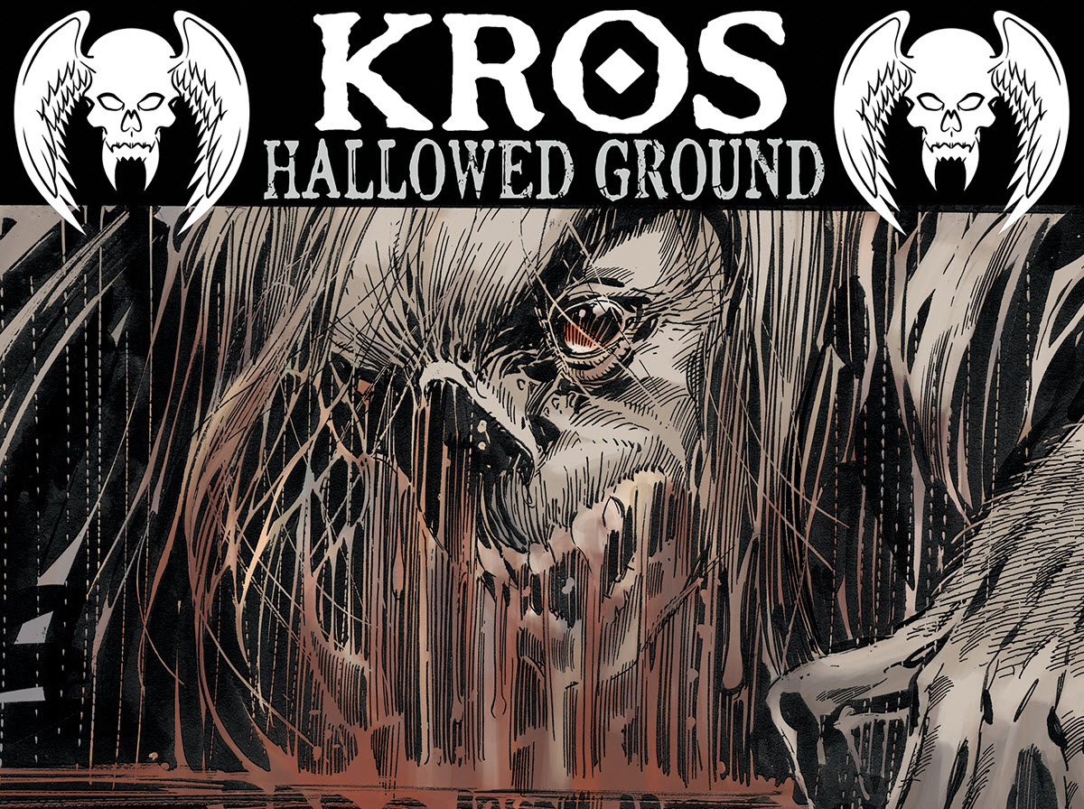 John Ostrander and Tom Mandrake Launch Kros: Hallowed Ground on Kickstarter