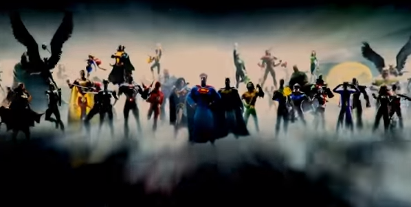 justice league intro