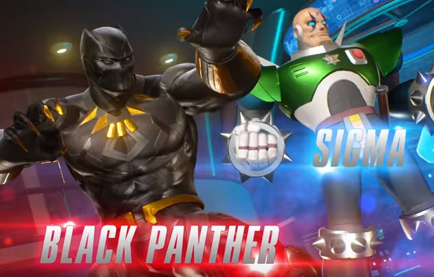 black panther and sigma