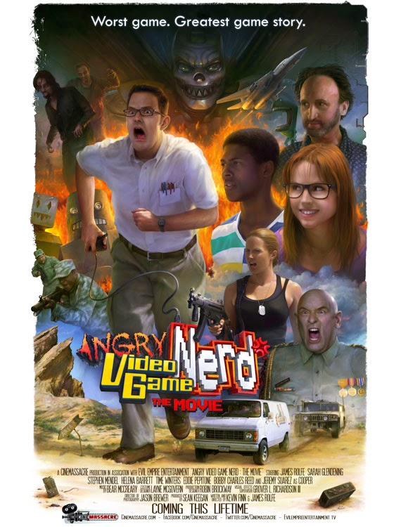 Fantasia Film Festival 2014: ANGRY VIDEO GAME NERD: THE MOVIE Review by Ous Zaim