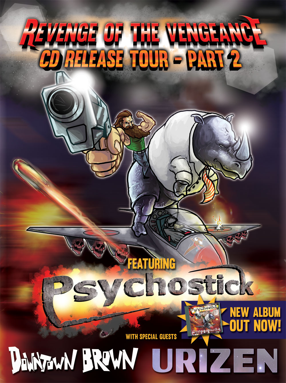 PSYCHOSTICK Confirmed For Dirt Fest 2015 and Tour Dates