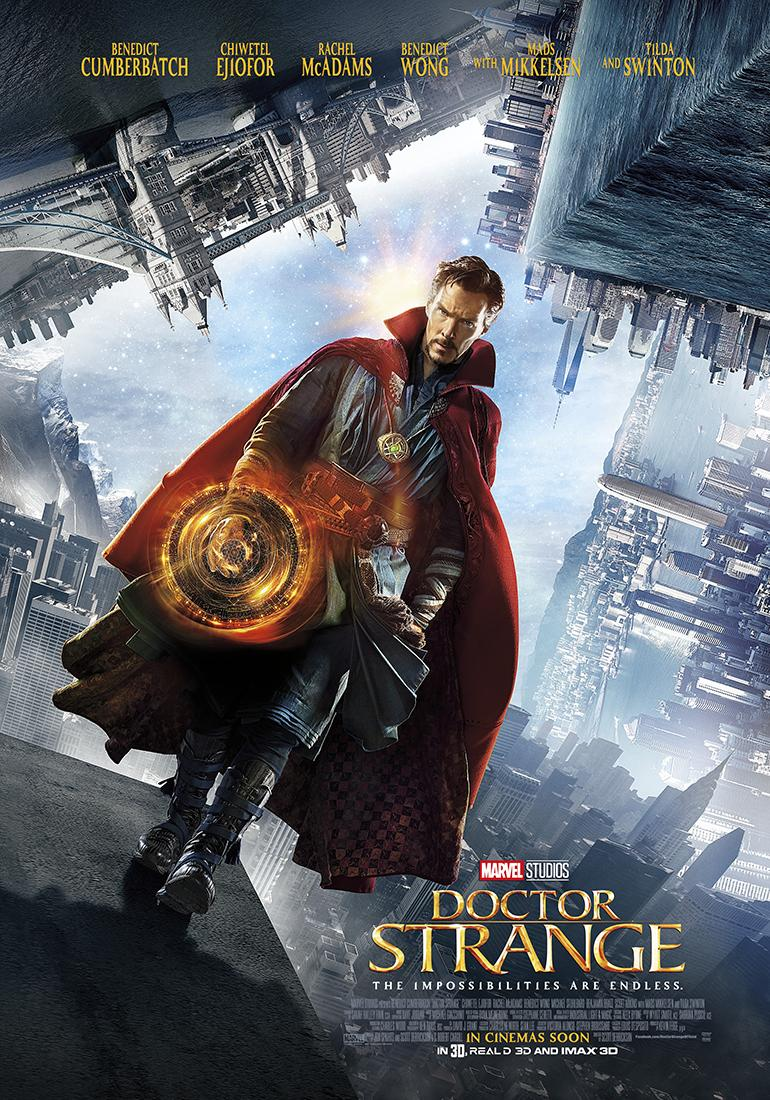 Dr. Strange Out on Blu-Ray Today