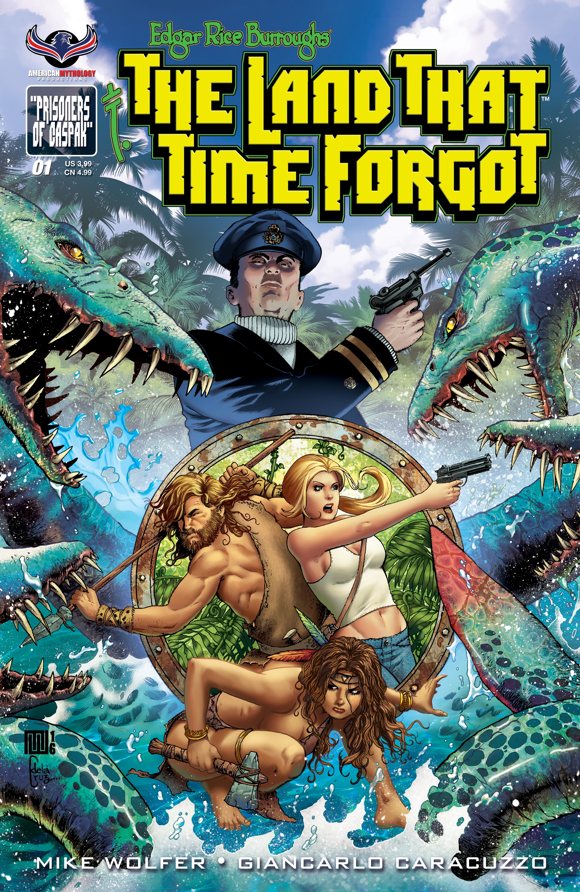Edgar Rice Burroughs' Classic Tale - The Land That Time Forgot - Returns in a Brand New Comic Book Series